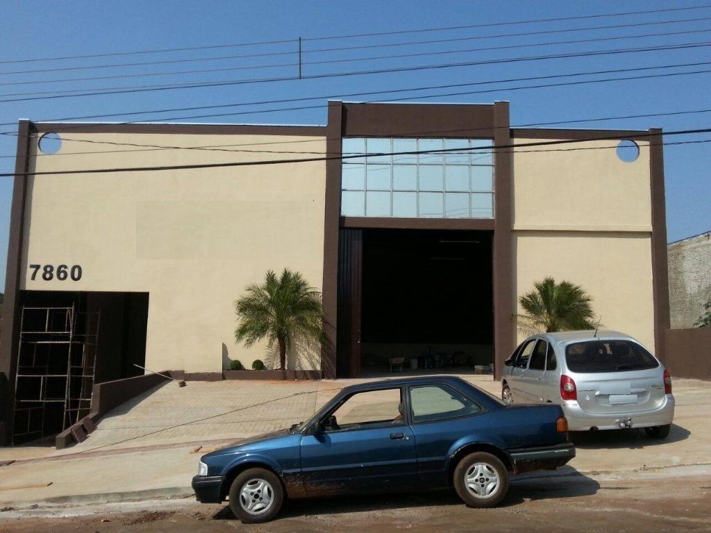 Barracão à venda, 460 m² por R$ 1.490.000,00 - Lindóia - Londrina/PR
