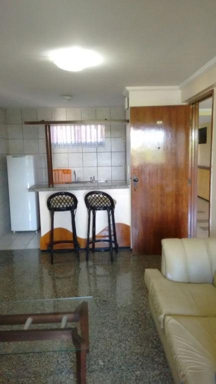 Flat residencial à venda, Mucuripe, Fortaleza.