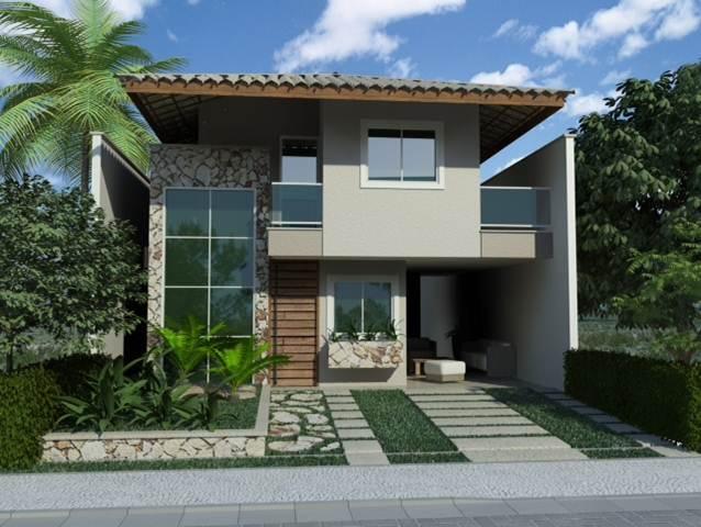 Casa em Condomínio à venda, Eusébio, Fortaleza - CA1868.