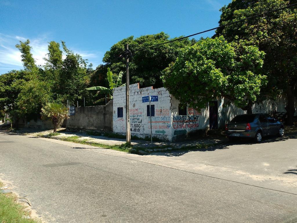 Terreno residencial à venda, Lagoa Redonda, Fortaleza.