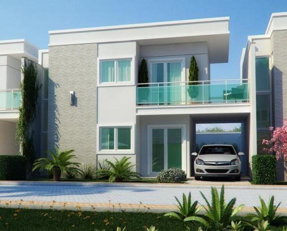 Casa residencial venda lagoa redonda fortaleza ca0013 for Casas duplex modernas
