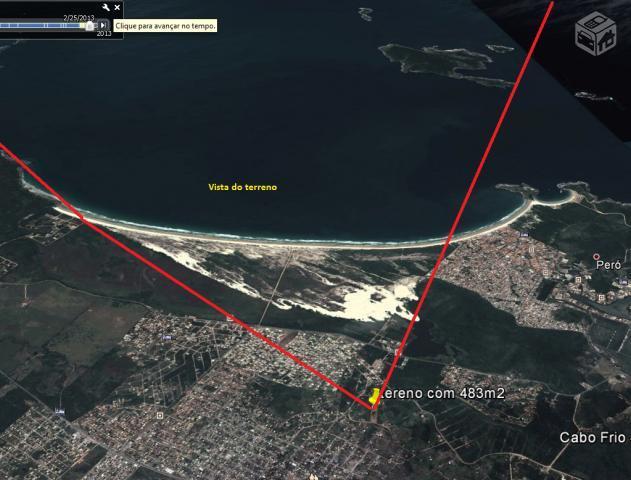 Lote/Terreno em Guriri  -  Cabo Frio - RJ