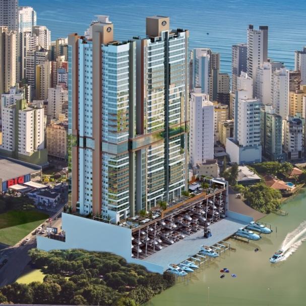 Marina Beach Towers - 4 suítes, 3 vagas de garagem - vaga p/ de Webbimóveis.'