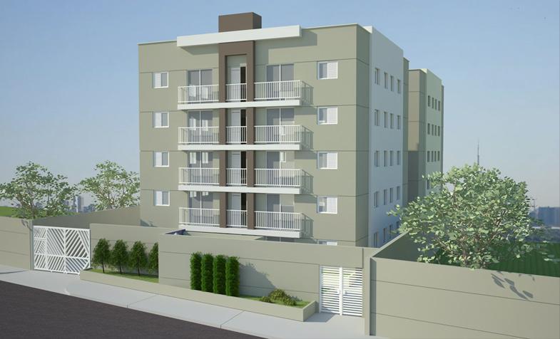 Apartamento residencial à venda, Jardim Primavera, Carapicuí...