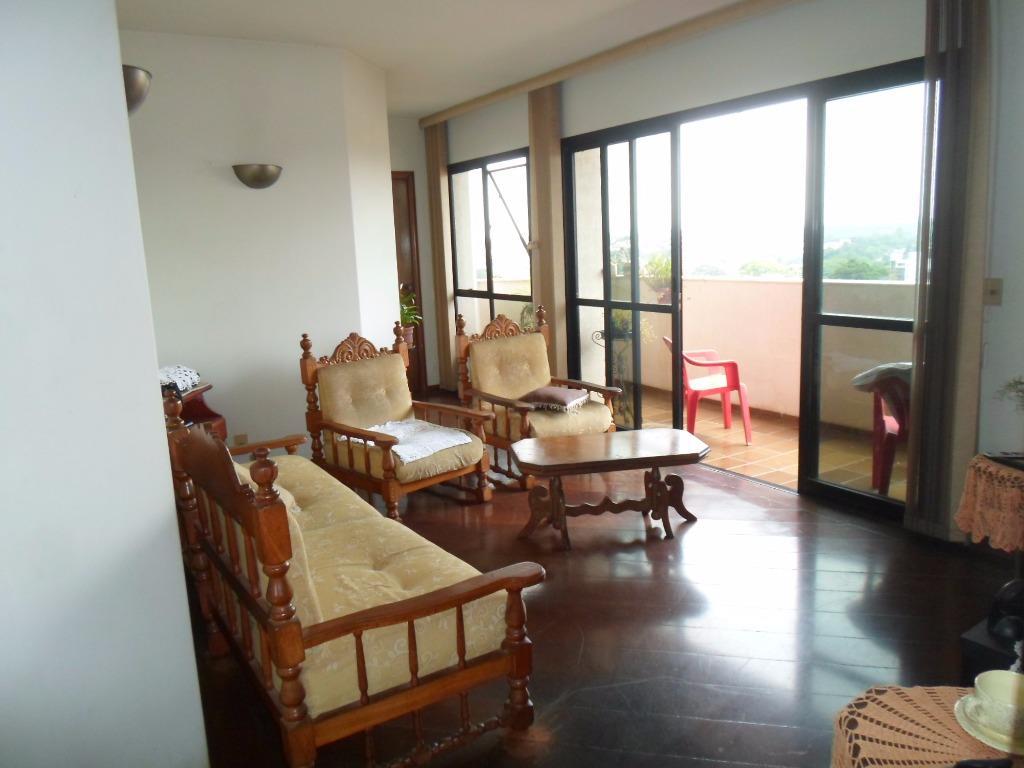 Apartamento residencial à venda, Centro, Santa Bárbara D'Oes...
