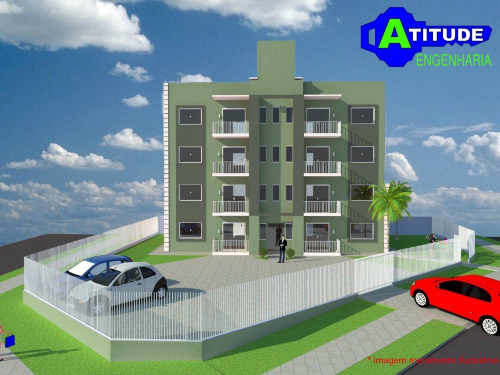 Apartamento residencial à venda, Campina da Barra, Araucária...