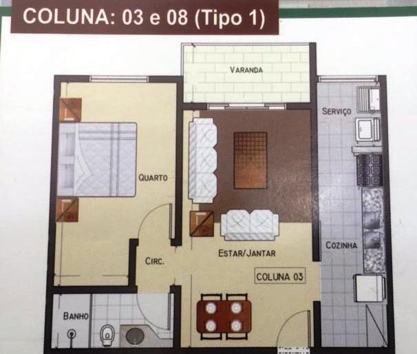 Foto - [AP0883] Apartamento Teresópolis, Ermitage