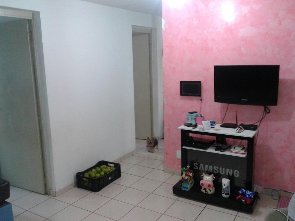 Apartamento residencial à venda, Vila São Pedro, Hortolândia...
