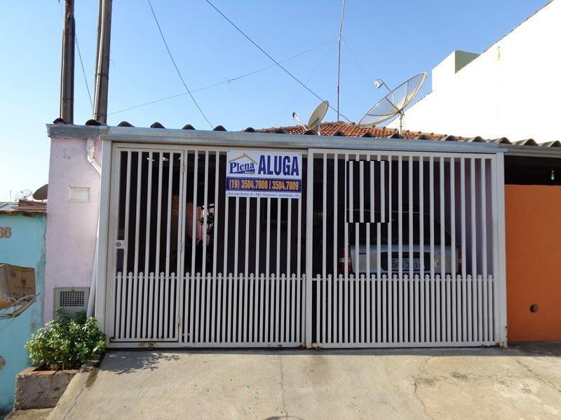 Casa  residencial para locação, Vila São Pedro, Hortolândia.