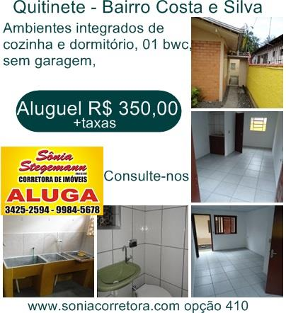 Imagem Kitinete Joinville Costa e Silva 1344863