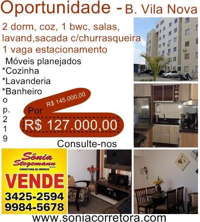 Imagem Apartamento Joinville Vila Nova 1601614