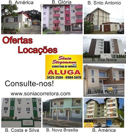 Imagem Casa Joinville América R$ 950,00