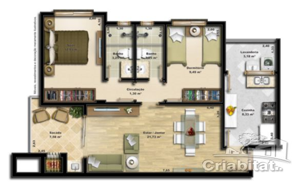 Apartamento Harmonia Canoas
