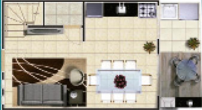 Casa 2 Dorm, Rochdale, Osasco (CA0815)