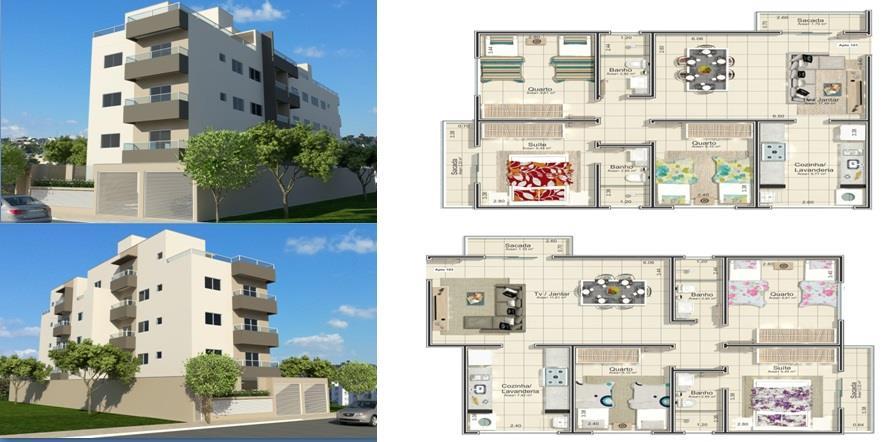 Apartamento  residencial à venda, Lidice, Uberlândia.