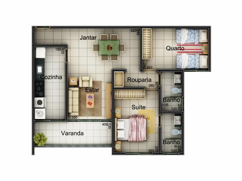 Apartamento residencial à venda, Centro, Uberlândia - AP0048