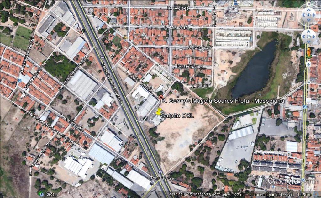 Galpão à venda, 2500 m² por R$ 2.750.000 - Paupina - Fortaleza/CE