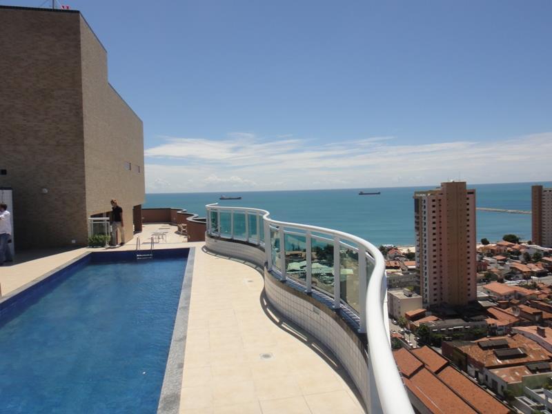 Apartamento com 1 dormitório para alugar, 46 m² por R$ 2.000,00/mês - Praia de Iracema - Fortaleza/CE