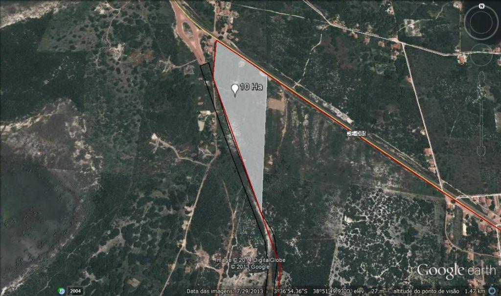 Terreno à venda, 1000000 m² por R$ 9.000.000 - Centro - Pecém/CE