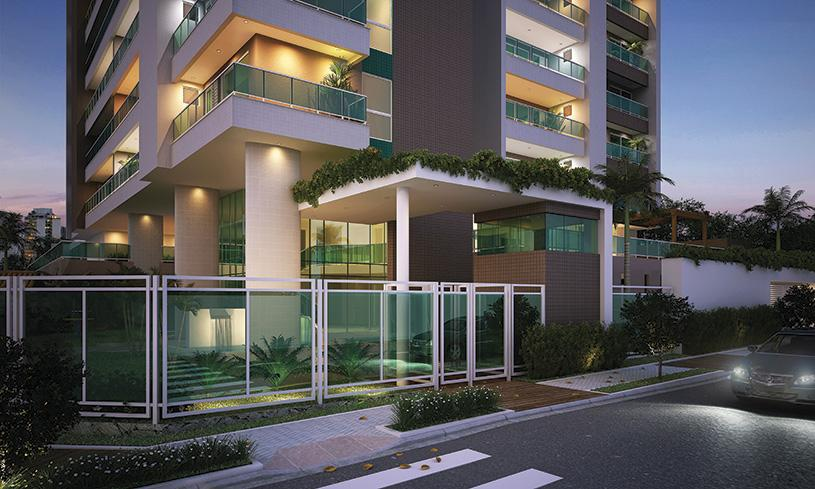 Apartamento residencial à venda, Fátima, Fortaleza. de Escala Imóveis.'