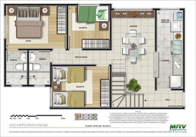Apartamento à Venda - Parangaba