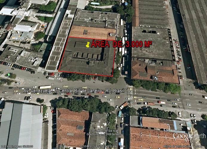 Área  comercial à venda, Porto Maravilha, Rio de Janeiro