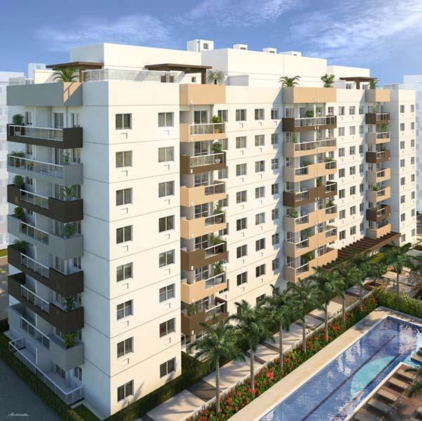 Apartamento residencial à venda, Recreio, Rio de Janeiro - A