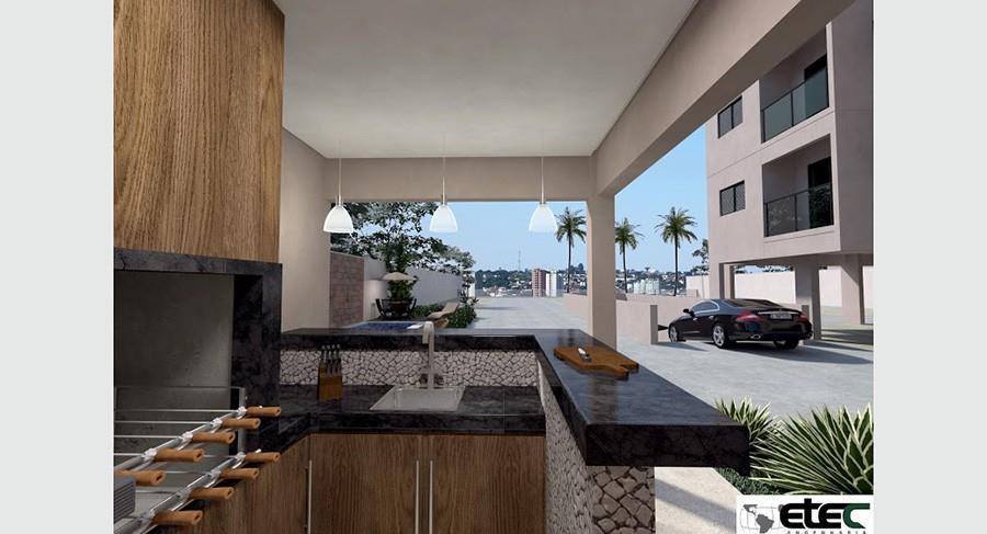 Apartamento residencial à venda, Estados Unidos, Uberaba - AP1098.