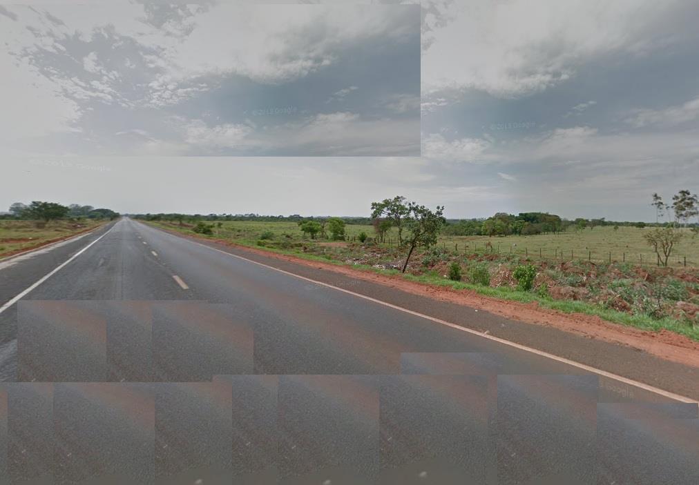Área rual bem localizada BR 262 a 10 km de Uberaba, plana, na beira da pista 20.000 m² 250 x 80. Ideal para Chácaras.
