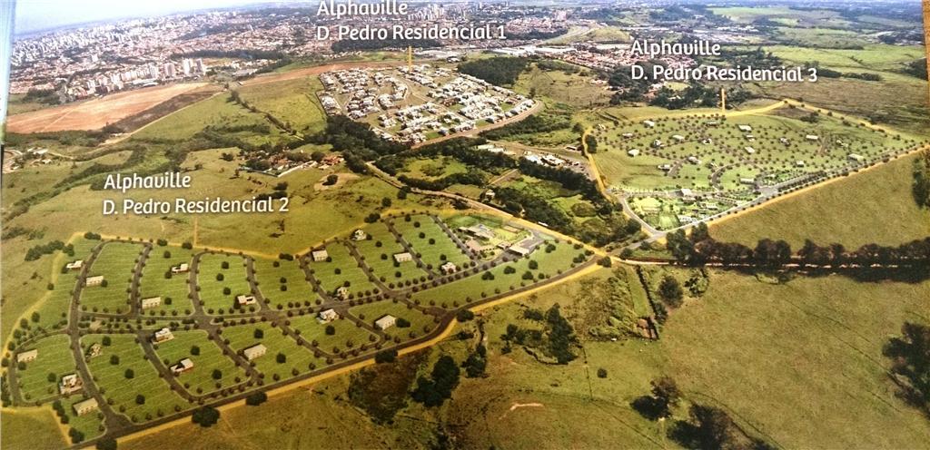 Terreno em Alphaville Dom Pedro 2, Campinas - SP