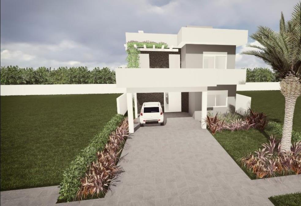 Casa 4 Dorm, Alphaville, Gravataí (CA1393)