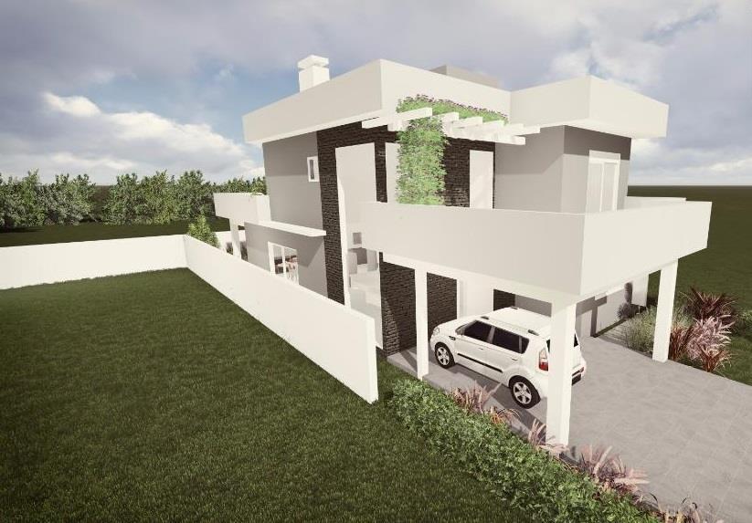 Casa 4 Dorm, Alphaville, Gravataí (CA1393) - Foto 2