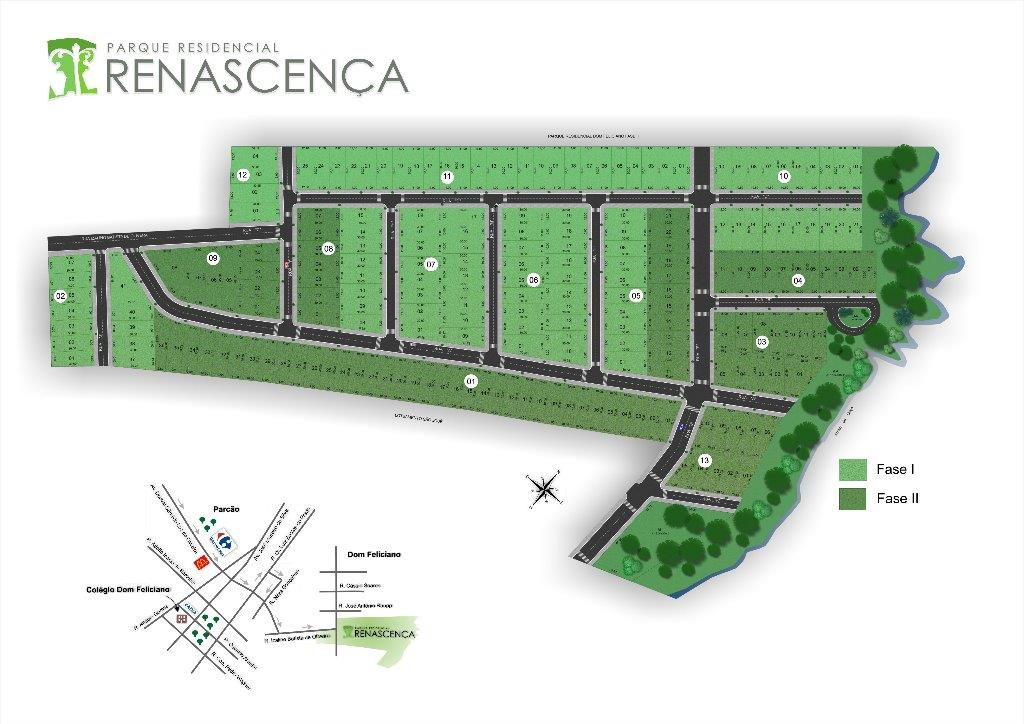 N Grupo - Terreno, Renascença, Gravataí (TE0991)