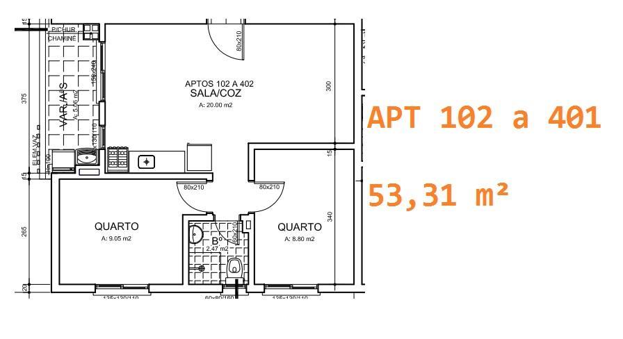 Apto 2 Dorm, Cruzeiro, Gravataí (AP0585) - Foto 2