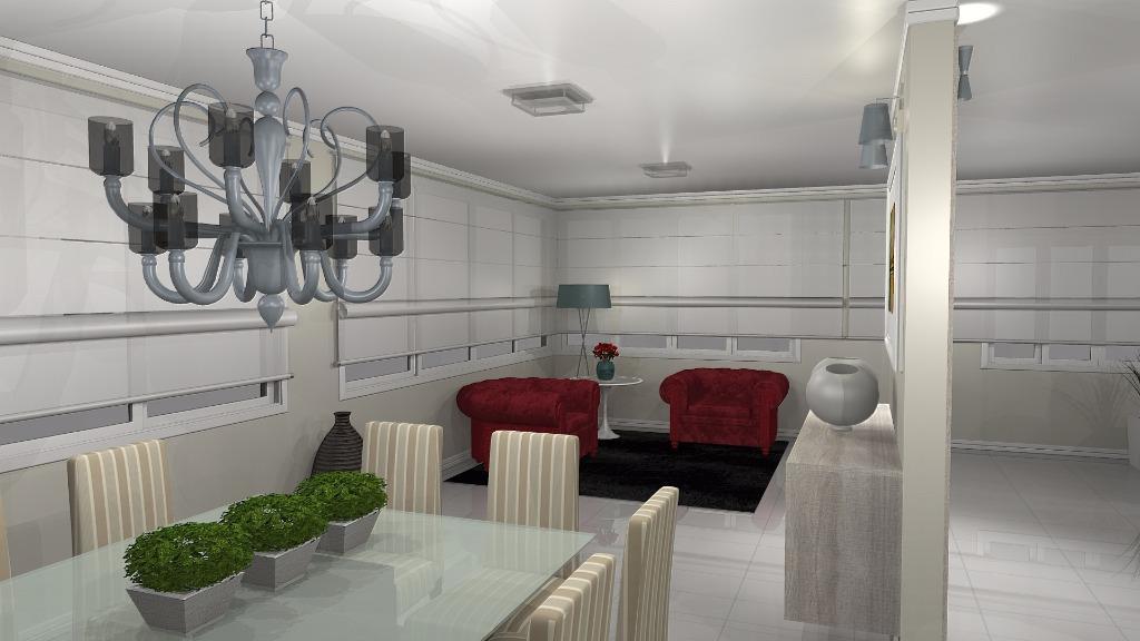 Casa 3 Dorm, Alphaville, Gravataí (CA1259) - Foto 4