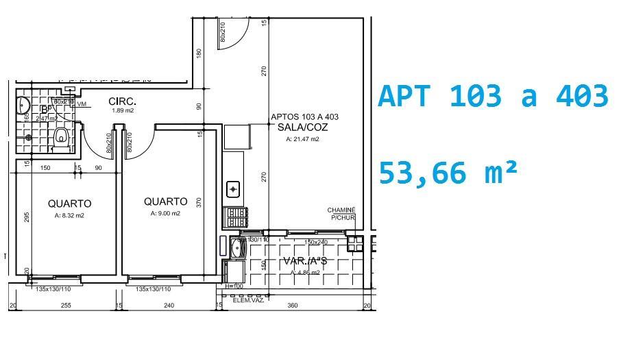 N Grupo - Apto 2 Dorm, Cruzeiro, Gravataí (AP0589) - Foto 2