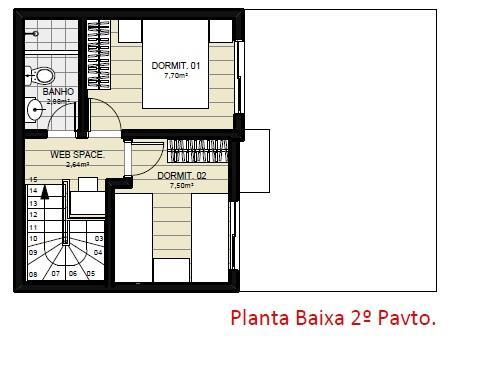 Casa 2 Dorm, Auxiliadora, Gravataí (CA1246) - Foto 12