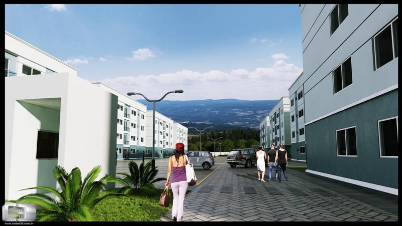 N Grupo - Apto 2 Dorm, Santa Cruz, Gravataí
