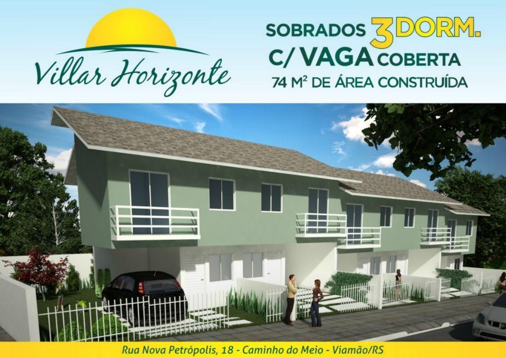 Sobrado  residencial à venda, Vila Augusta, Viamão. de Iniciar Cia Imobiliária.'