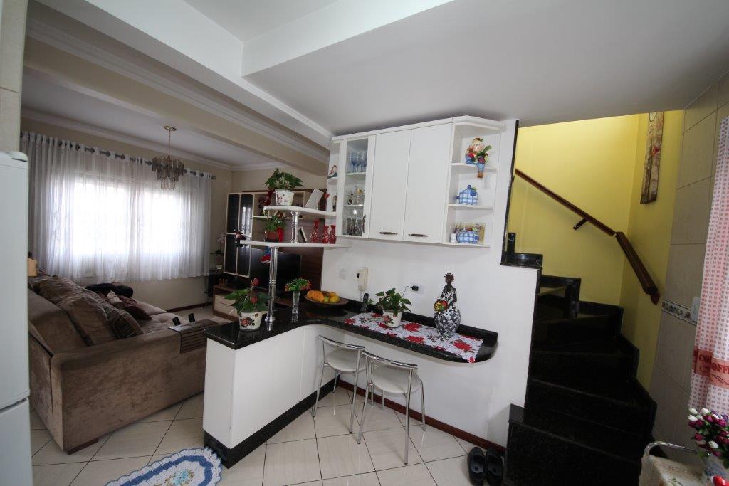 Sobrado de 3 dormitórios à venda em Uberaba, Curitiba - PR