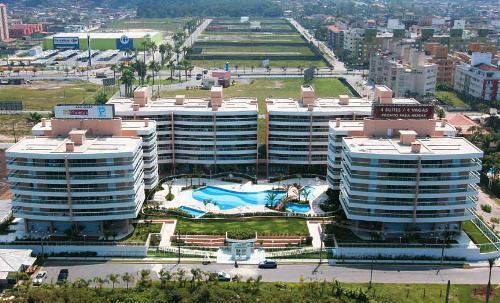 Apartamento residencial para venda e locação, Balneário Cida