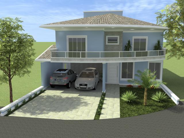 Sobrado residencial à venda, Centro, Araçoiaba da Serra - SO