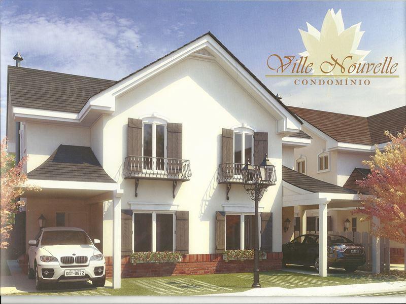 Sobrado residencial à venda, Condomínio Ville Novelle, Soroc