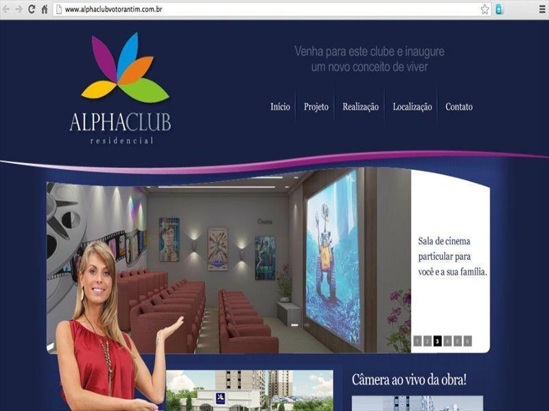 Apartamento residencial Alpha Club à venda, Votorantim.