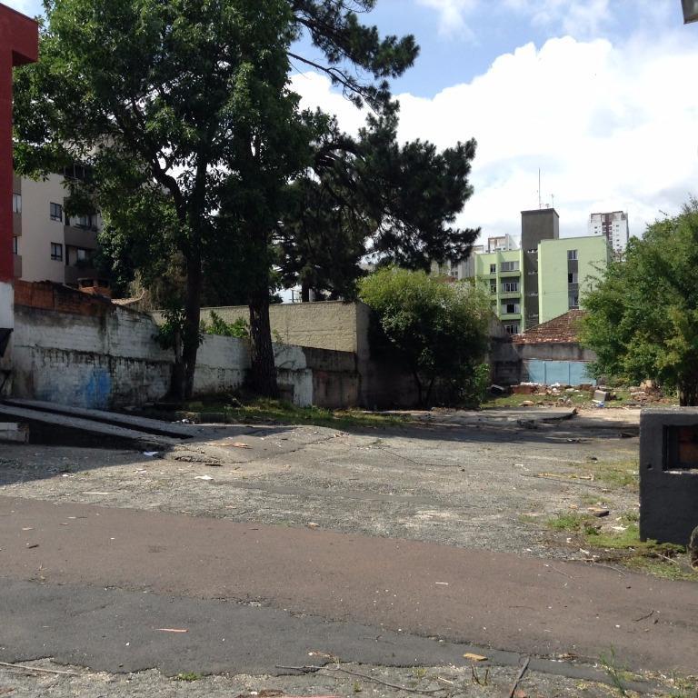 Terreno à venda em Vila Izabel, Curitiba - PR