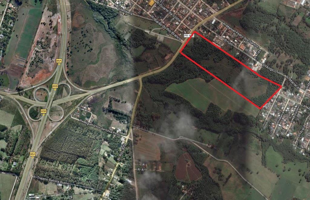 Terreno em Vila Santa Maria, Piraquara - PR