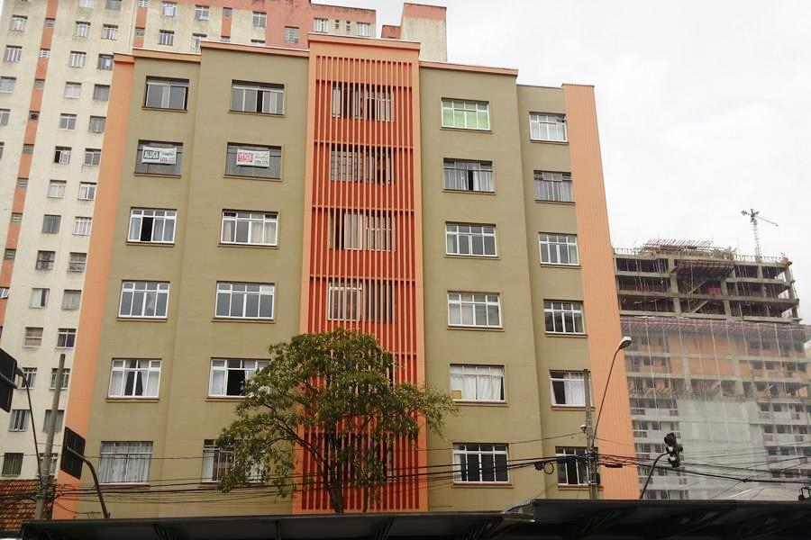 Studio residencial para locação, Centro, Curitiba - ST0005.
