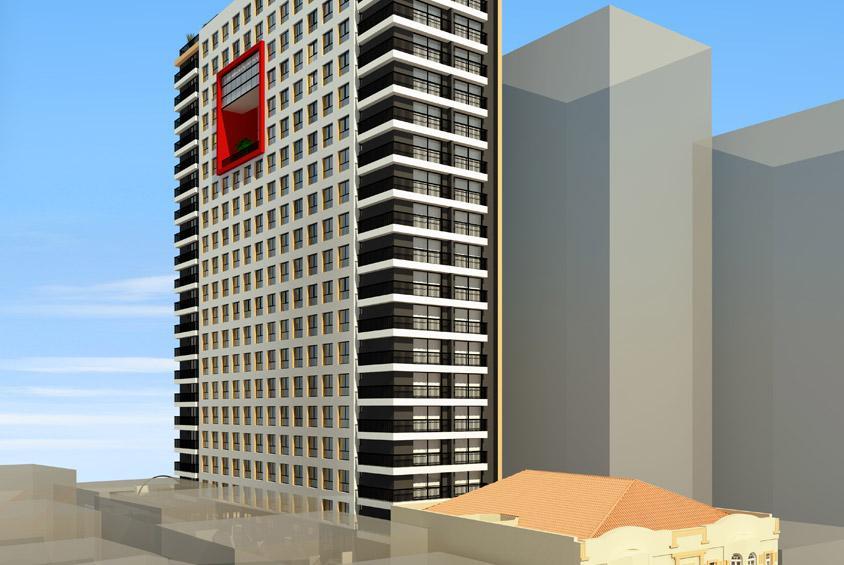 Apartamento  residencial à venda, Centro, Curitiba. Empreend