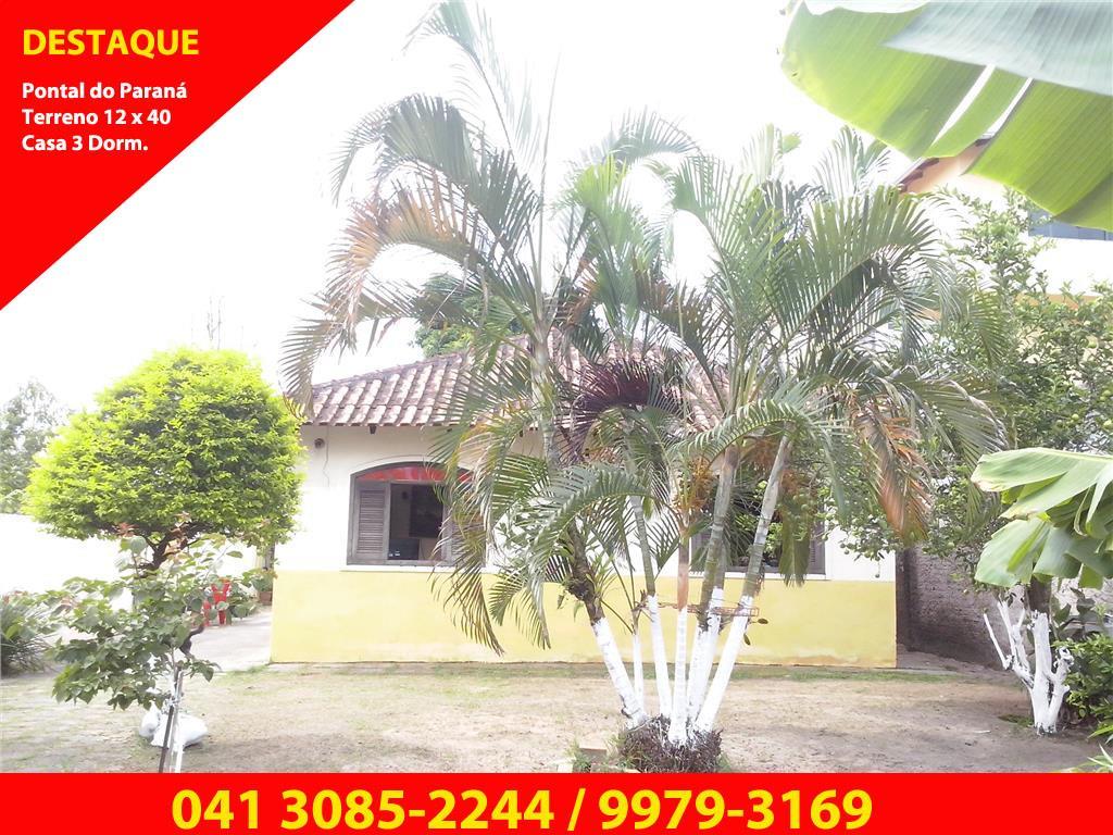 Casa com terreno à venda, Praia de Leste, Pontal do Paraná - de Vitória Imóveis Curitiba.'