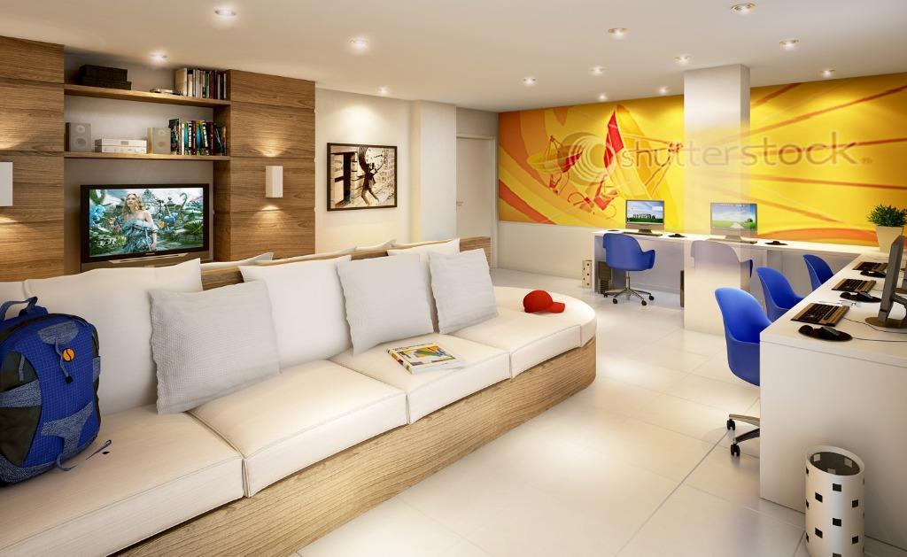 Apartamento de 2 dormitórios em Boa Vista, Curitiba - PR
